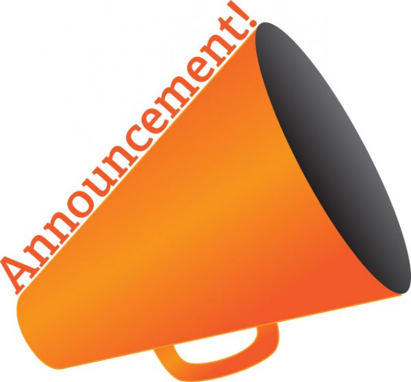 announcement graphic